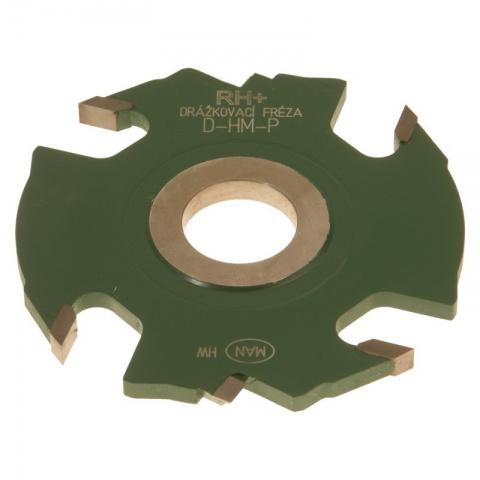 Fréza drážkovací SK 125x12x30  4+2z  D-HM-P