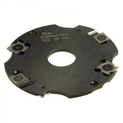 Fréza drážkovací s VBD  125x  4x30  4+4z  DFZ