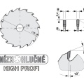 Pilový kotouč SK  350x3,6/2,5x30  5390    72 DHZ HP - PILANA