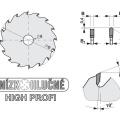 Pilový kotouč SK  303x3,2/2,2x30  5390    60 DHZ N HP - PILANA