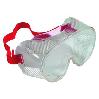 Ochranné brýle přímo větrané s plochým zorníkem