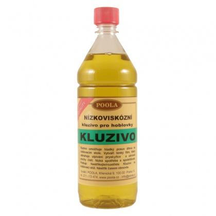 Kluzivo pro hoblovky, nízkoviskózní - Láhev 1 litr