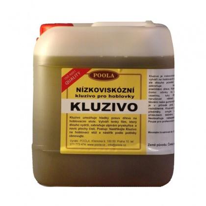 Kluzivo pro hoblovky, nízkoviskózní - Kanystr 5 litrů