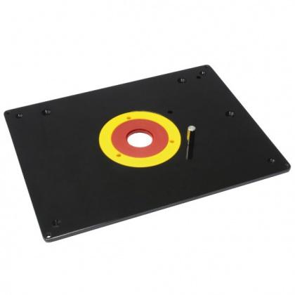 Fachmann FRT Frézovací deska plast pro stolek - 306x229x6mm, D30/66/98mm PLAST