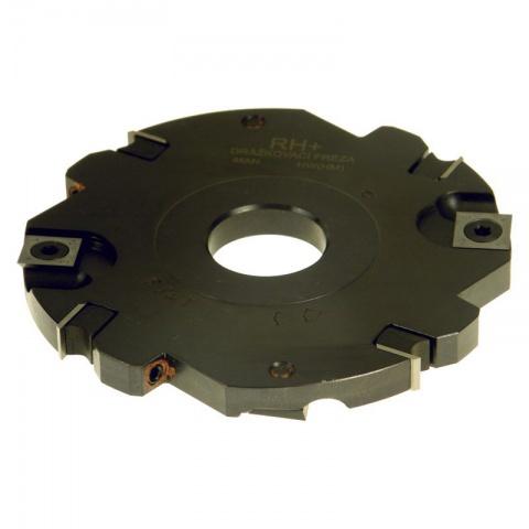 Fréza drážkovací s VBD  125x12x30  4+4z  DFZ