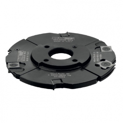 Fréza drážkovací stavitelná s VBD 140x4-15x30  4+4z 3-dílná  C694.001.30