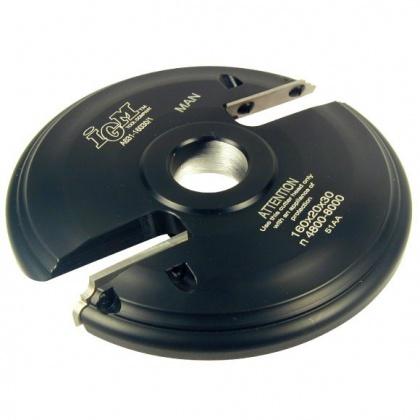 Fréza na výplně s VBD 160x20x30  2z  L-horní braní, F631-16030