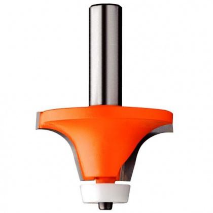 Zaoblovací fréza na Corian SK R12,7/15°  50,8x25,4  d=12mm