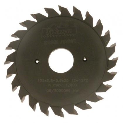 Předřezový kotouč SK skládaný  105x2,8-3,6x20  5393.1  12+12 FZ HP - PILANA
