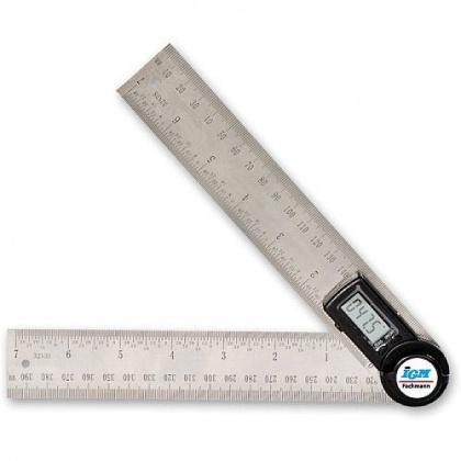 FDU-003020  Fachmann Digitální úhlové pravítko - 200mm (celkem 400mm)