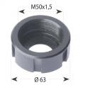 Matice pro hlavy ER40 - M50x1,5/63 L