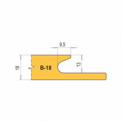 VBD B18-CNC na nábytkové úchytky (1 ks)