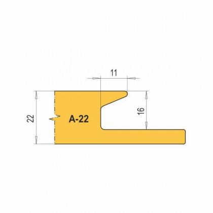 VBD A22-CNC na nábytkové úchytky (1 ks)