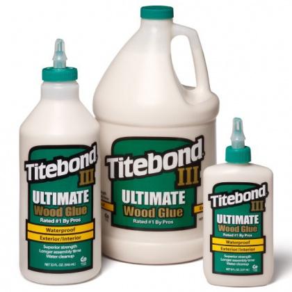 Titebond III Ultimate Voděodolné lepidlo na dřevo D4