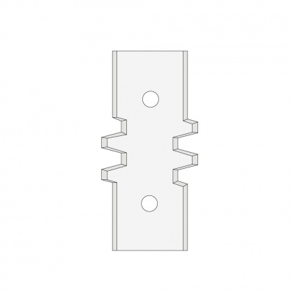 """F620-091850  Profilový nůž do frézy na spoje """"A"""""""