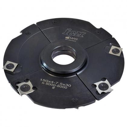 Fréza drážkovací stavitelná s VBD  150x4,0-7,5x30  4+4z  F602-15531