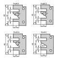 Fréza na rámy s VBD 120x40x30  2z  Profil-kontra, F641-12130
