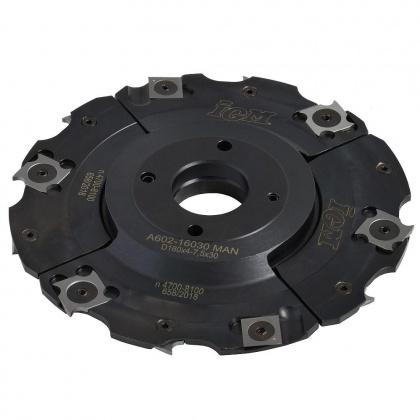 Fréza drážkovací stavitelná s VBD  160x4,0-7,5x30  4+4z  F602-16030