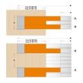 Fréza drážkovací stavitelná s VBD 170x20-39x30  4+4z  C694.022.30