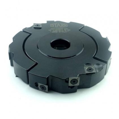 Fréza drážkovací stavitelná s VBD 160x28,0 - 55,0x30  4+4z, 3553/P
