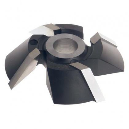 Fréza úhlová HSS 45°  160x30x30  4z  CT02 R-spodní braní