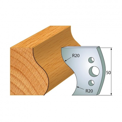 Profil 571/50 - nůž SP Flury