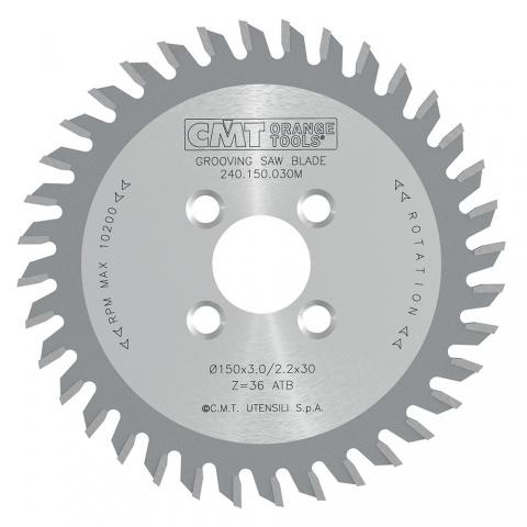 Drážkovací pilový kotouč SK 150x4,0/2,2x30  36 WZ pro CNC