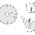Pilový kotouč SK  600x6,0/4,0x30  5381-26    64 WZ - PILANA