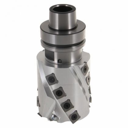 Spirálová falcovací fréza s VBD - CNC  80x81,4x30  16+2, Z2+2, s upínačem HSK  63F