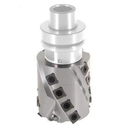 Spirálová falcovací fréza s VBD - CNC  80x81,4x30  16+2, Z2+2, bez trnu