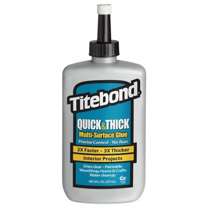 Titebond Quick & Thick Lepidlo na dřevo - 237ml