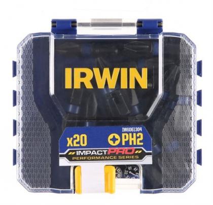 """IRWIN Impact Bit Phillips  PH2 - 1/4"""" /25mm (bal.20ks)"""