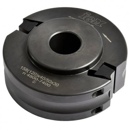 Univerzální frézovací hlava  120x40/50x30  2z  F020  OCEL/MEC