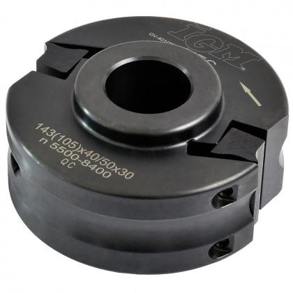 Univerzální frézovací hlava  100x40/50x30  2z  F020  OCEL/MEC