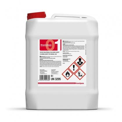 HRANICLEAN 01 čistič (UN3295) - Kanystr 5 litrů