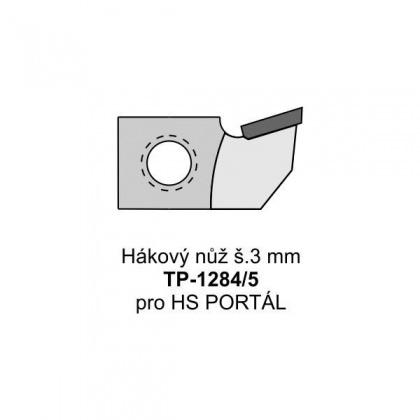 Hákový nůž š.3 mm TP-1284/5 pro HS PORTÁL