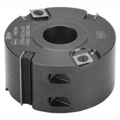 Hoblovací hlava s VBD 100x50x30  2+4z,  NH 50/100-R4P - ALU