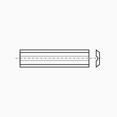 VBD   50,0x  8,0x1,5  Masiv - T10MG Microfinish