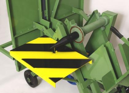 HVP 60A - Štípací zařízení,  trn 58x290, M27x2 Levý