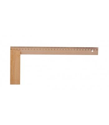 Úhelník dřevěný, stolařský KINEX 500x250 mm