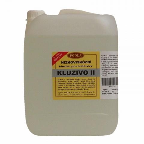 Kluzivo II pro hoblovky, odpařující se - Kanystr 5 litrů