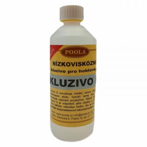 Kluzivo II pro hoblovky, odpařující se - Láhev 1 litr