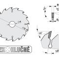 Pilový kotouč SK  200x2,5/1,6x20  5381-16    40 WZ - PILANA