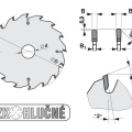 Pilový kotouč SK  200x3,2/2,5x30  5387-11    60 TFZ N - PILANA