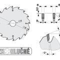 Pilový kotouč SK  350x3,6/2,8x30  5387-13    84 TFZ N - PILANA
