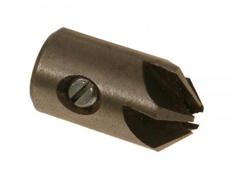 Záhlubník nástrčný kuželový 10,0x25/18  hvězdicový 90° NORMA