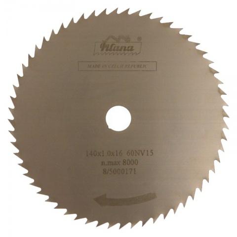 Pilový kotouč na dřevo   140x1,0x16  5316.4 - 60NV15°    PILANA