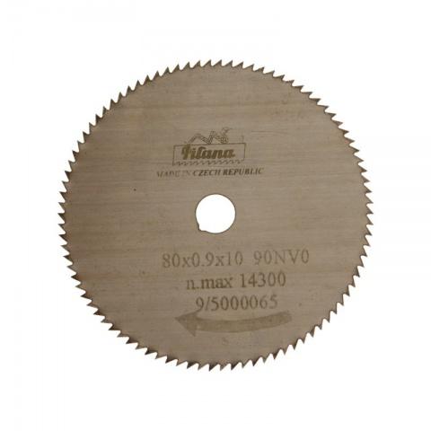 Pilový kotouč na dřevo     80x0,9x10  5314 - 90NV 0°  PILANA
