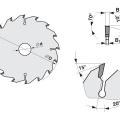 Pilový kotouč SK  500x4,0/2,8x30  5381-26    64 WZ - PILANA