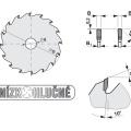 Pilový kotouč SK  350x3,6/2,5x30  5397-11   108 TFZ L - PILANA